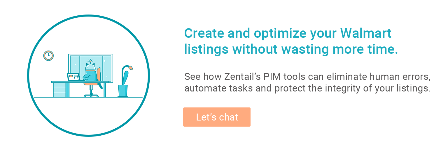 cta for Zentail's walmart listing tools
