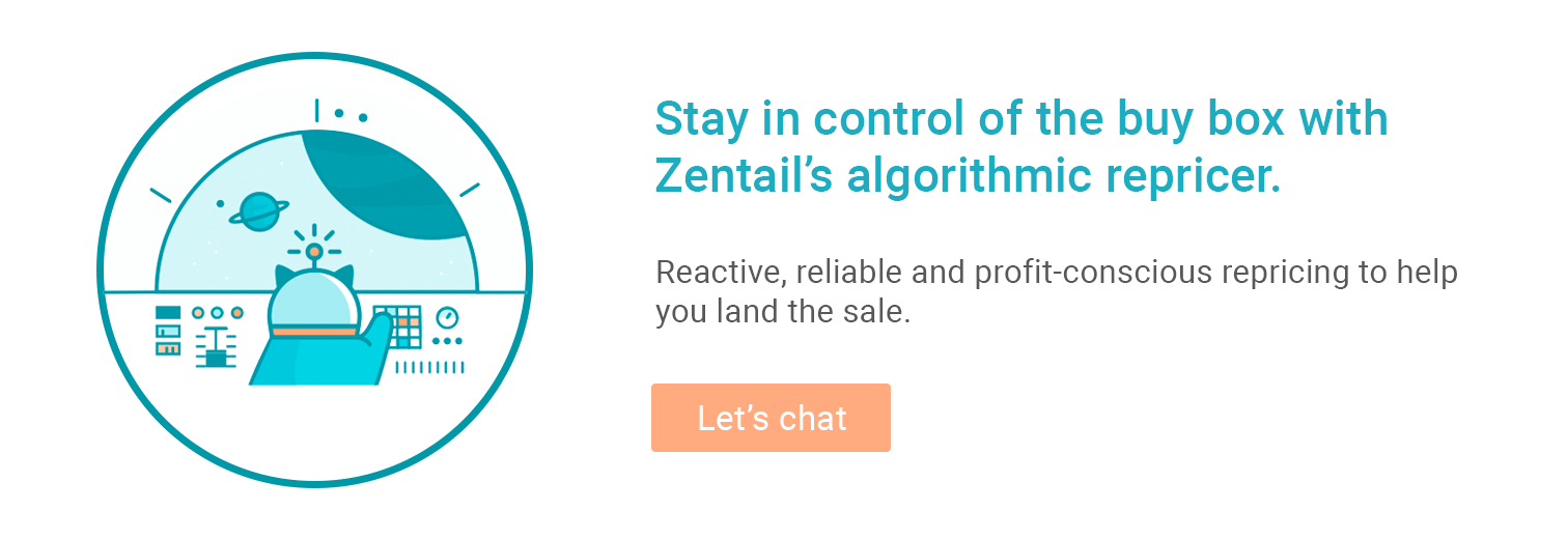 demo request to learn more about zentail's algorithmic repricer for amazon