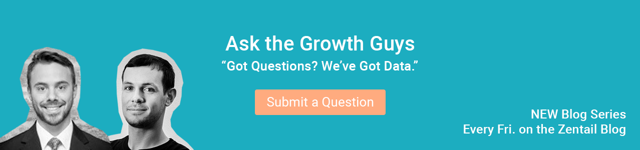 promo for new ask the growth guys blog series