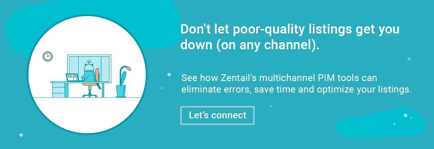 offer to learn more about zentail's multichannel PIM tools