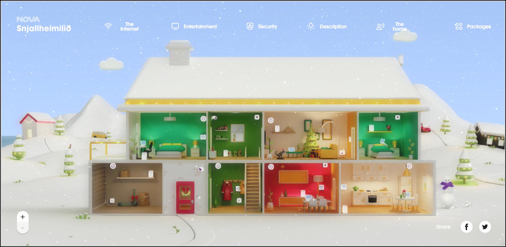 homepage of NOVA