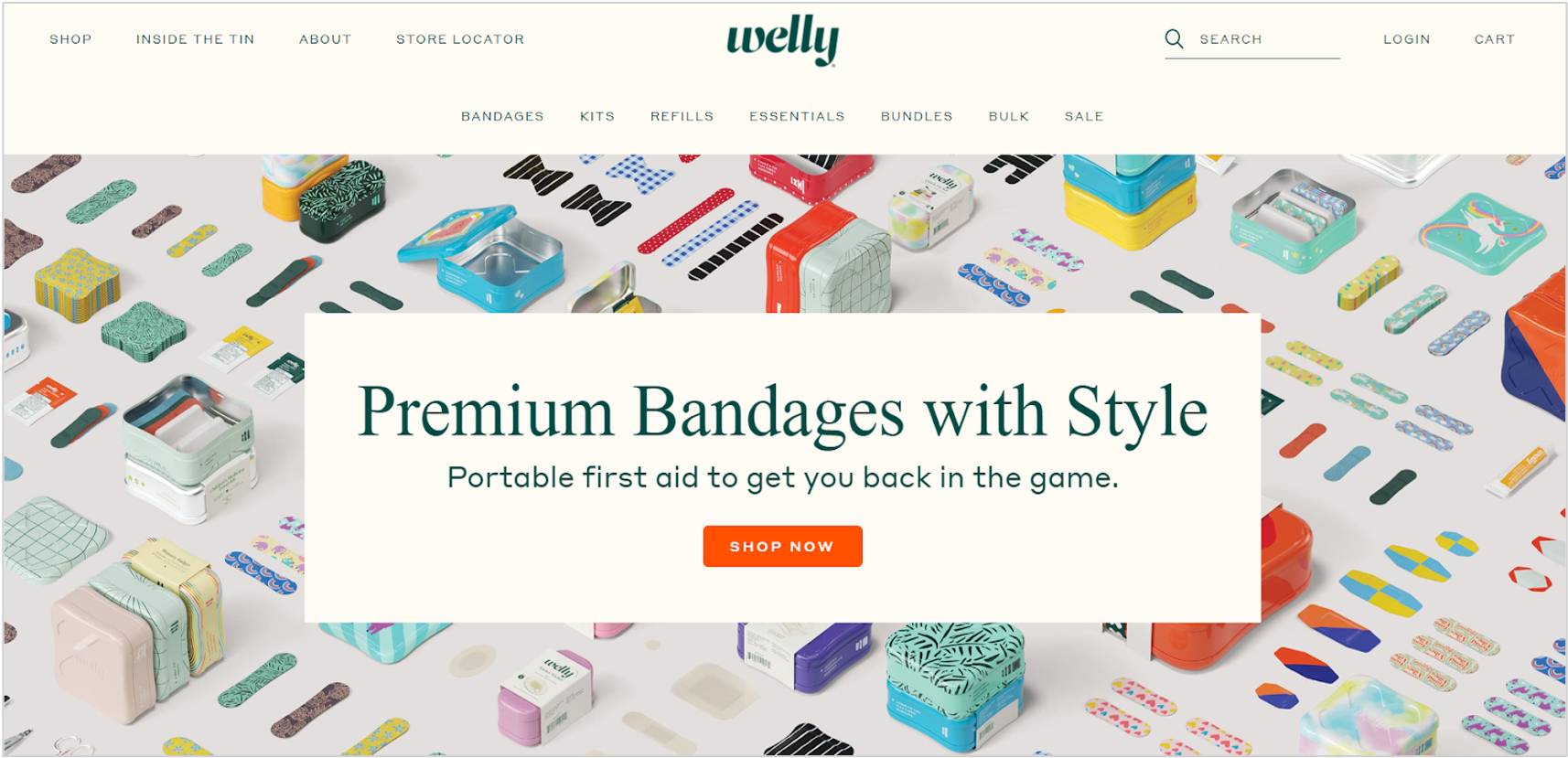 welly homepage