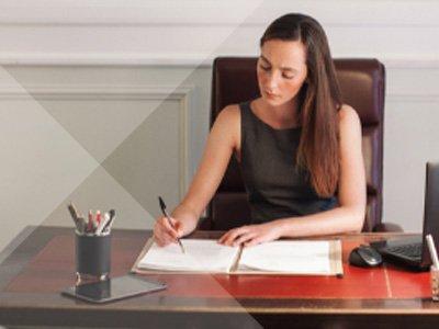 Woman Freelance Attorney
