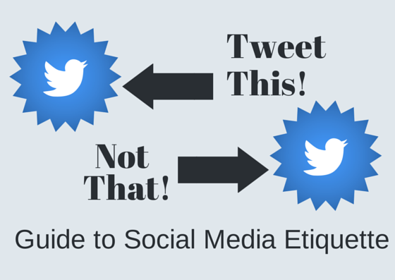 helpful guide to social media etiquette