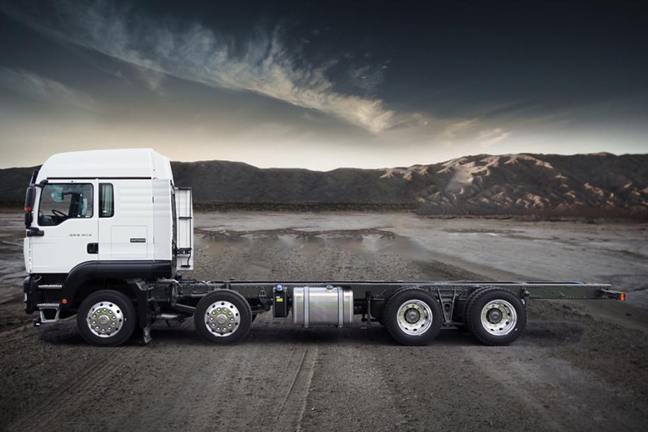 Sinotruk C7H Series 8X4 Truck Chassis