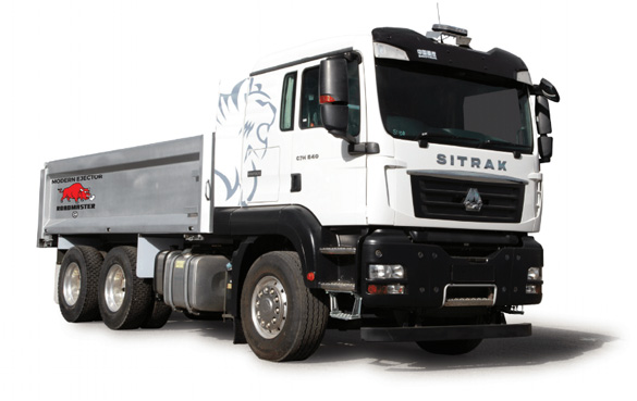 Sinotruk C7H Series 6X4 Ejector Truck