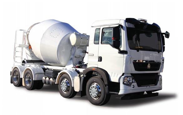 Sinotruk T5G Series 8X4 Concrete Truck