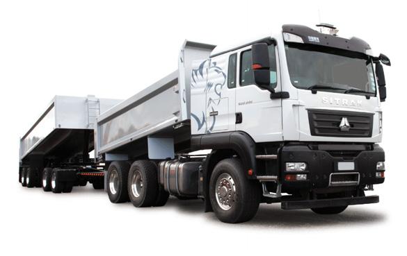 SinoTruk C7H 6X4 Tipper Truck