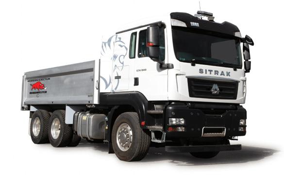 SinoTruk C7H 6X4 Modern Ejector Truck