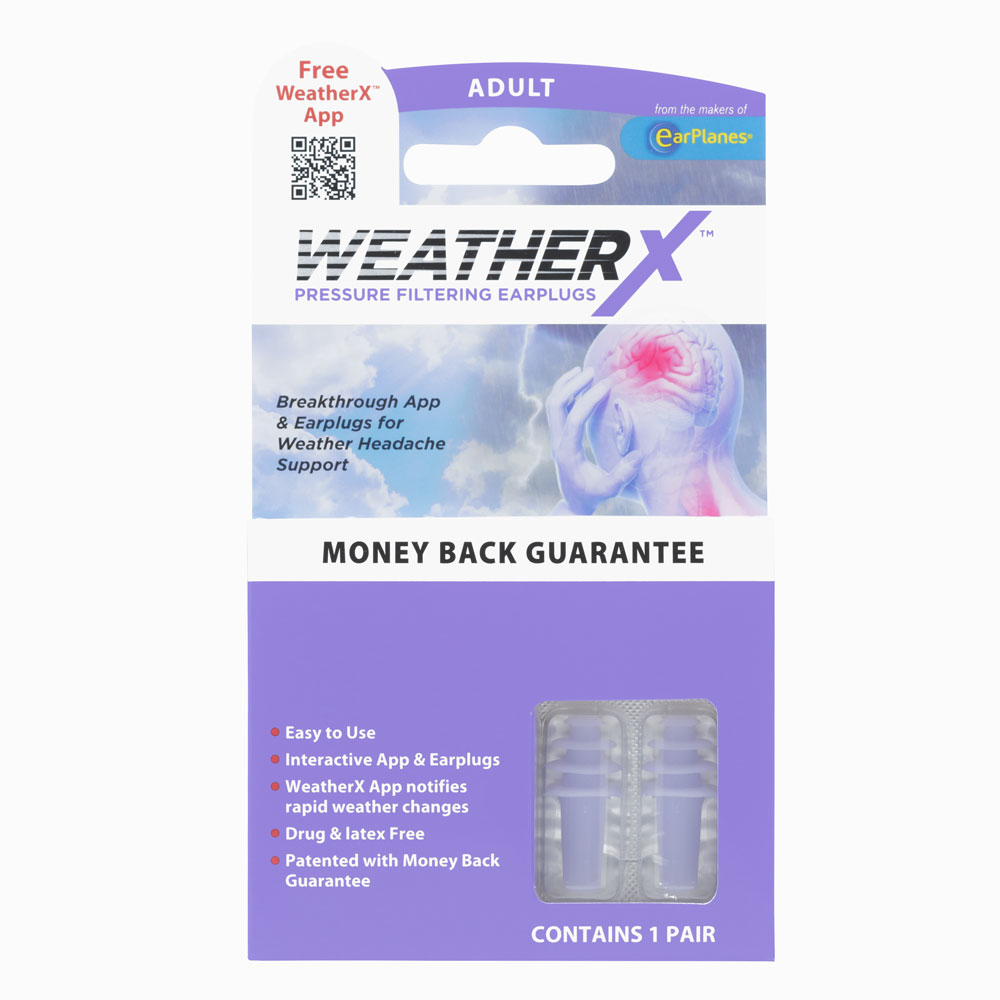 WeatherX Packaging Front