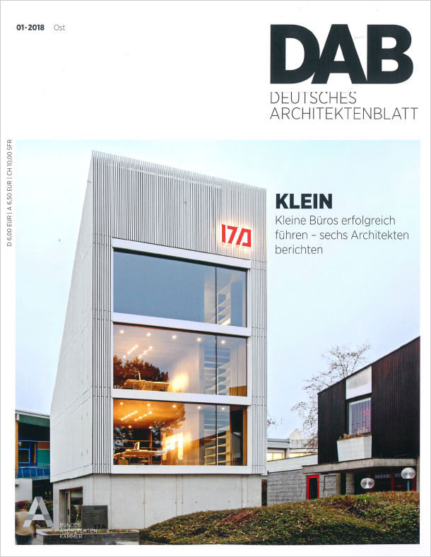 Titelseite DAB 01/2018