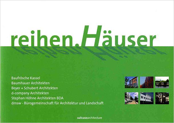 Titelseite reihen.Häuser