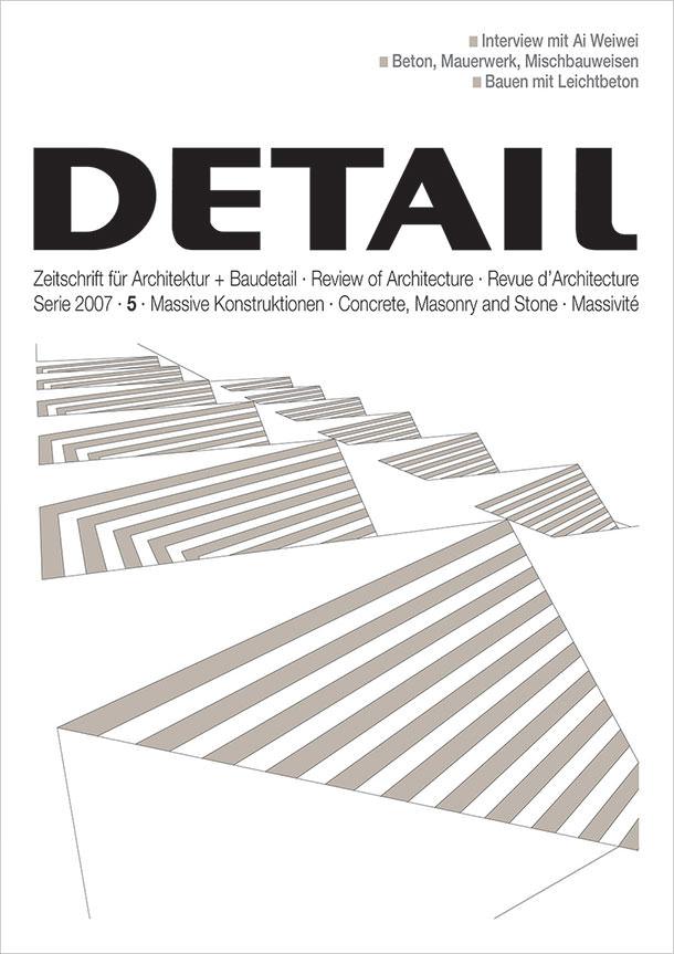 Titelseite DETAIL 5/2007