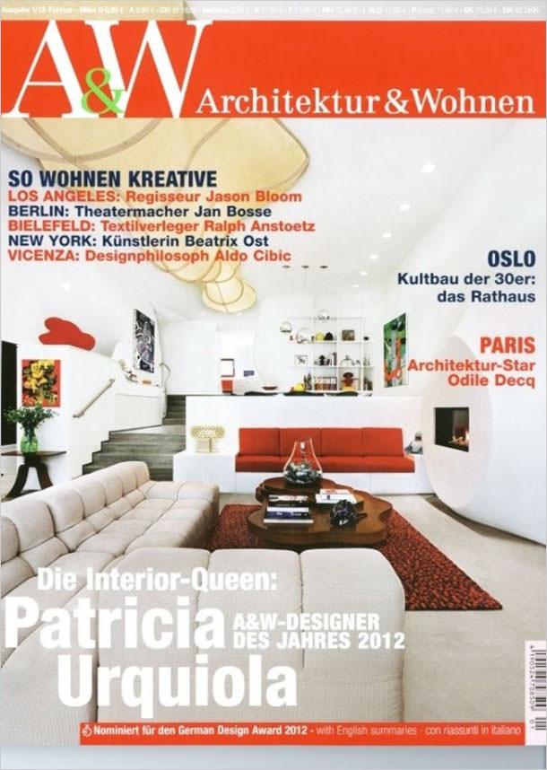 Titelseite Architektur & Wohnen 1/2012