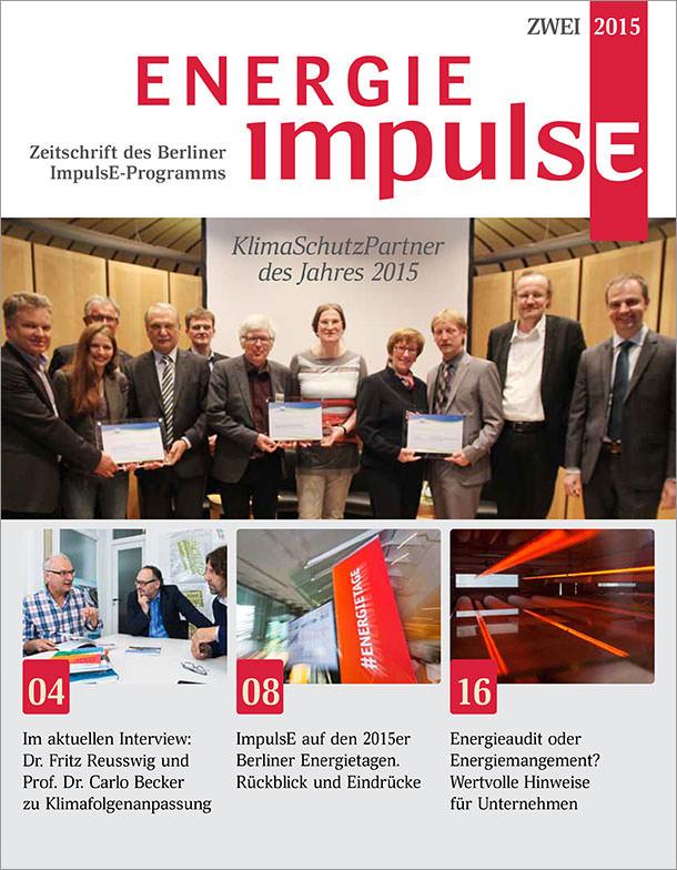 Titelseite Energie ImpulsE 02/2015
