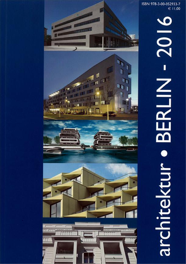 Titelseite Architektur Berlin 2016