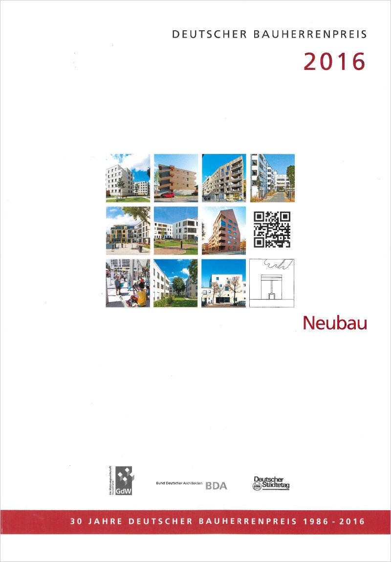 Titelseite Deutscher Bauherrenpreis 2016