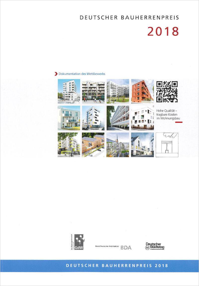 Titelseite Deutscher Bauherrenpreis 2018