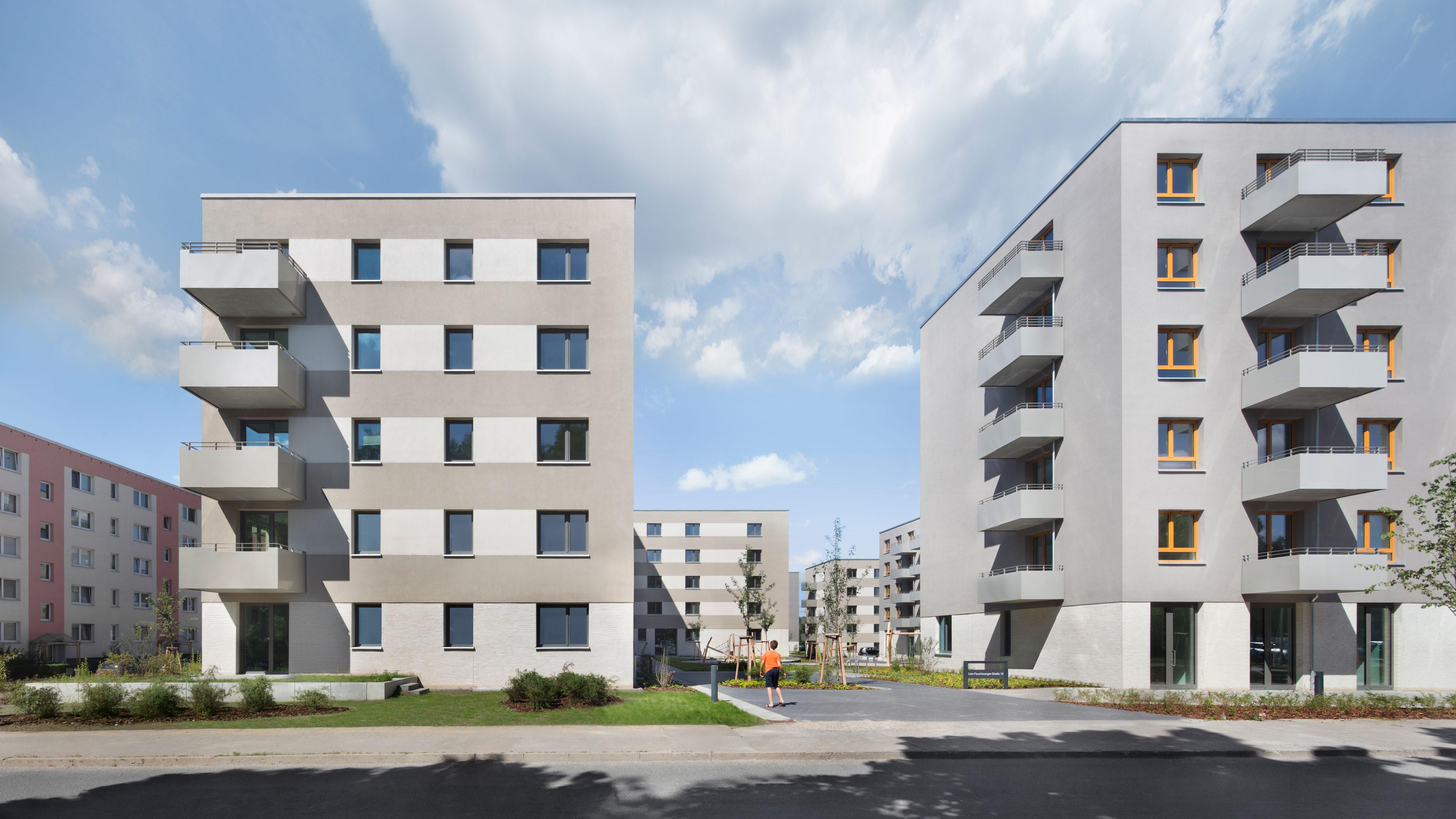 Projekt Lion-Feuchtwanger-Straße