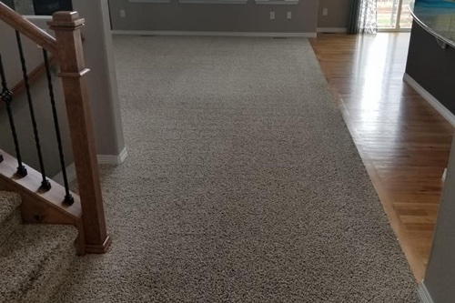 home in castle rock with clean carpets