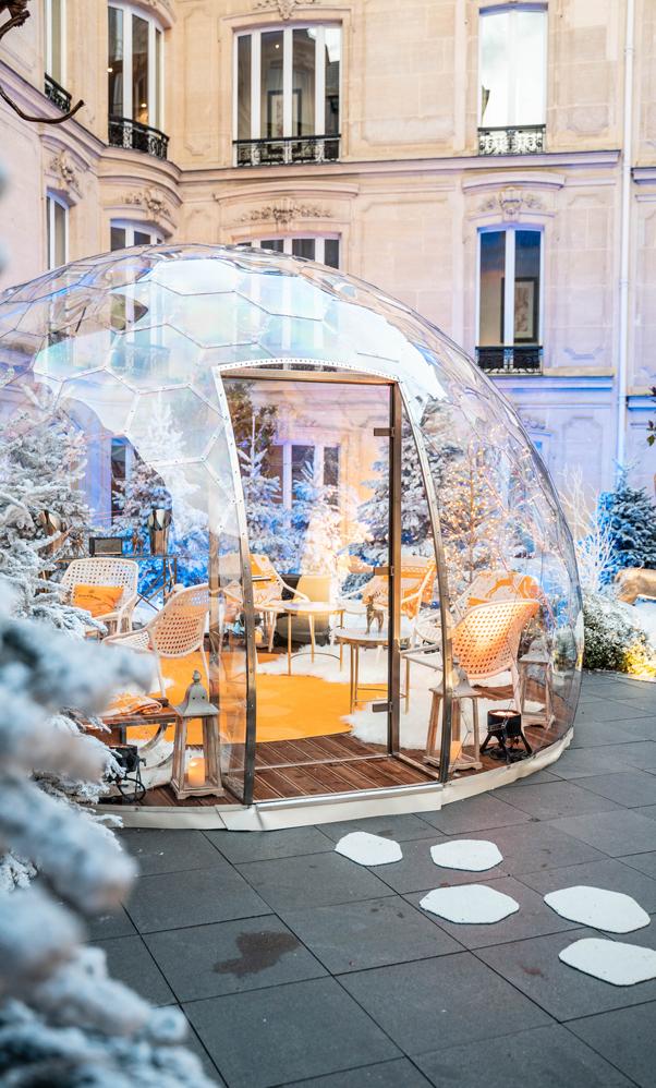 Dome Halo Fouquets