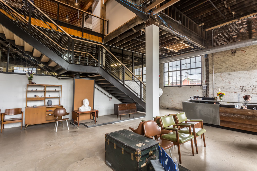 the idea foundry coworking space interior