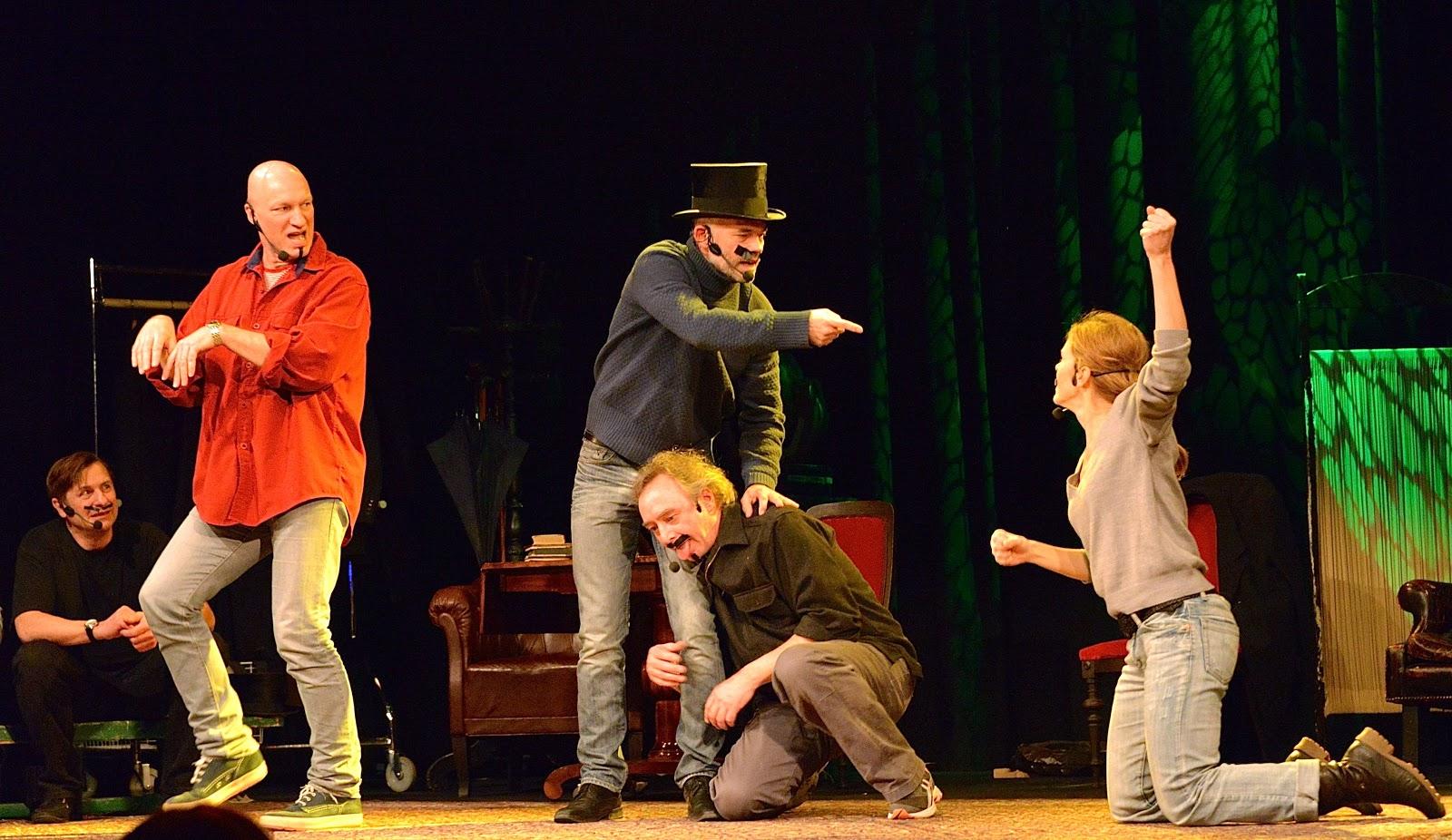 improv theatre show
