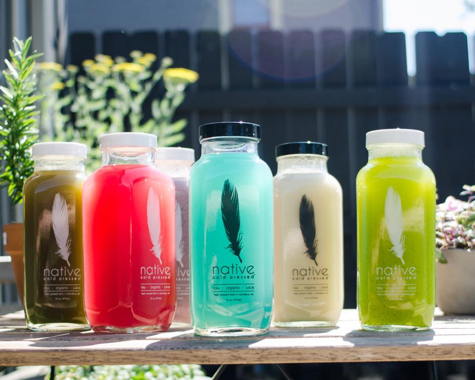 native cold pressed beverages