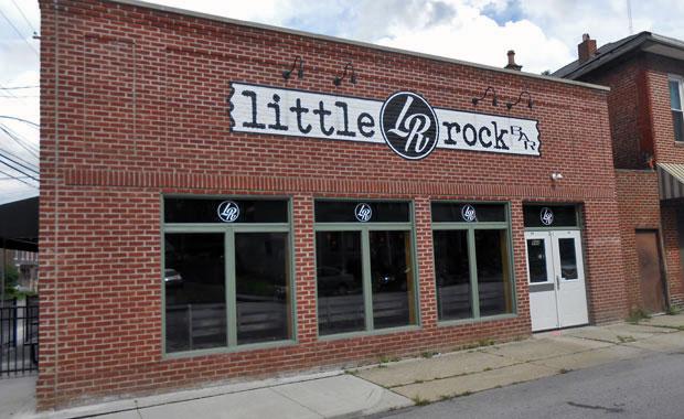 little rock bar exterior