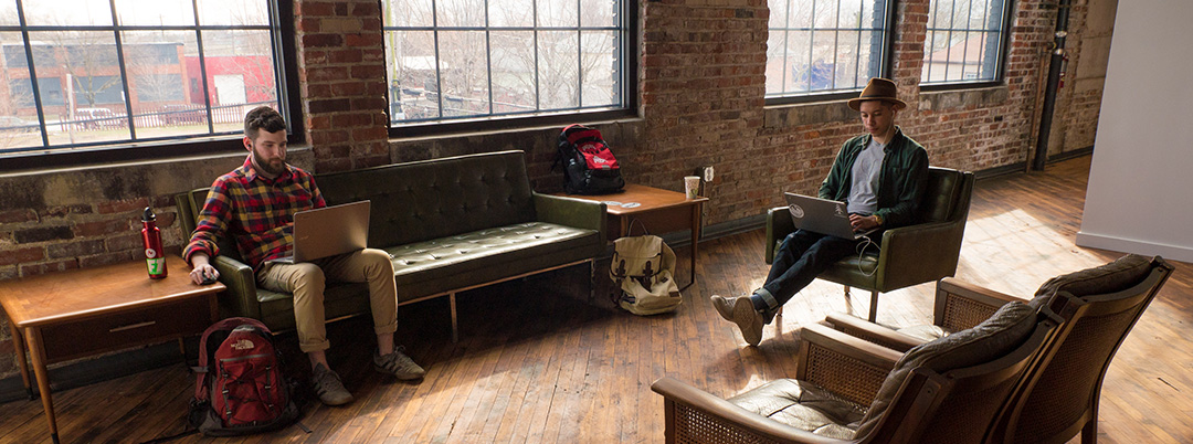 Inside of Idea Foundry space for Columbus makers
