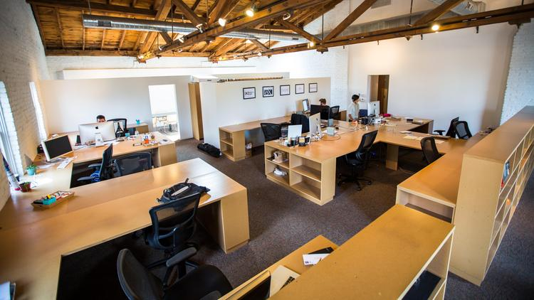 Inside the Perch Coworking Space
