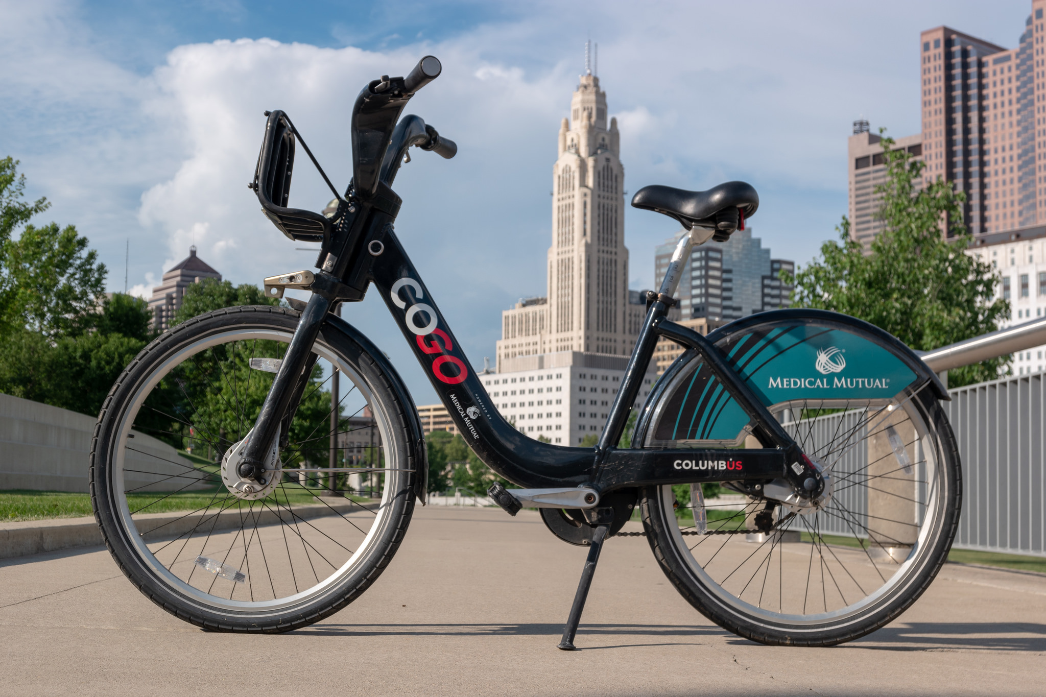 CoGo Bike share in Columbus