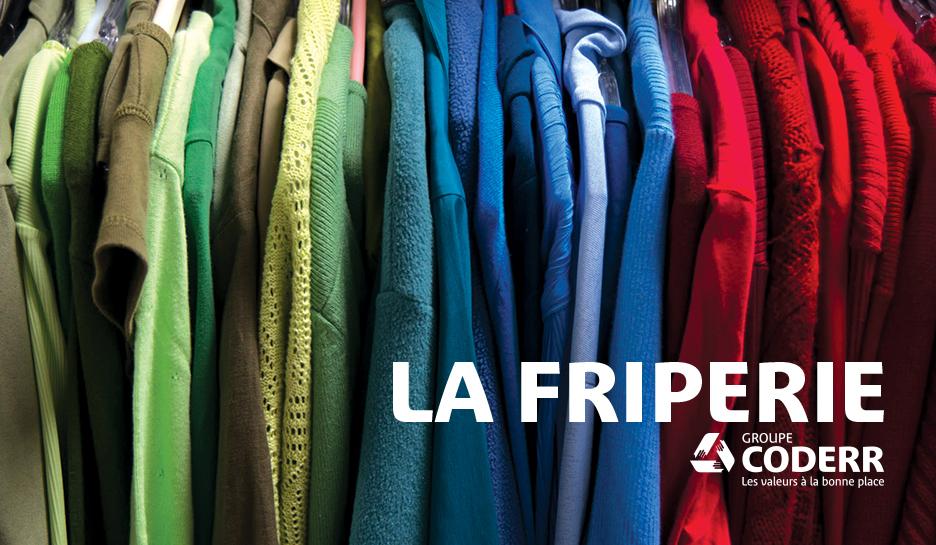 Vêtements Friperie Groupe Coderr