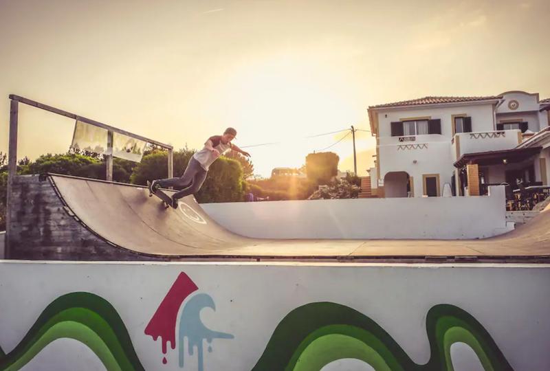 skate ramp villa