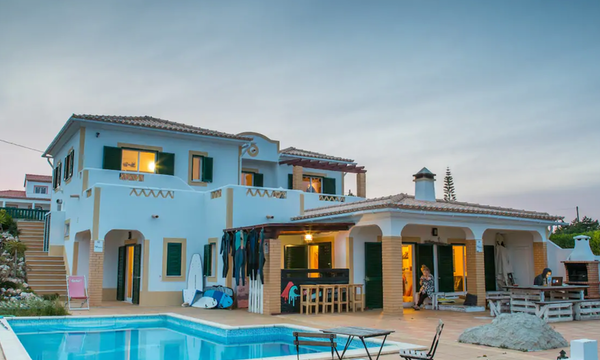 villa algarve aljezur with a pool