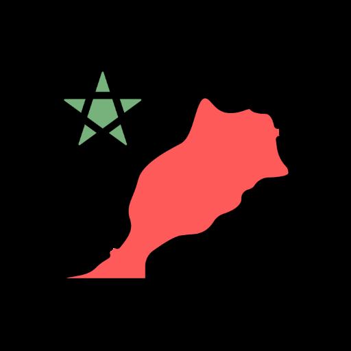 morocco land icon