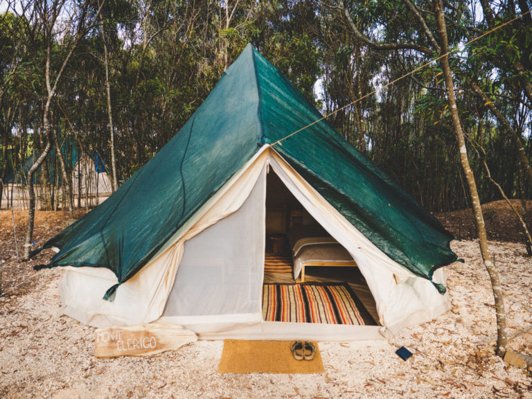 glamping tent in the nature algarve
