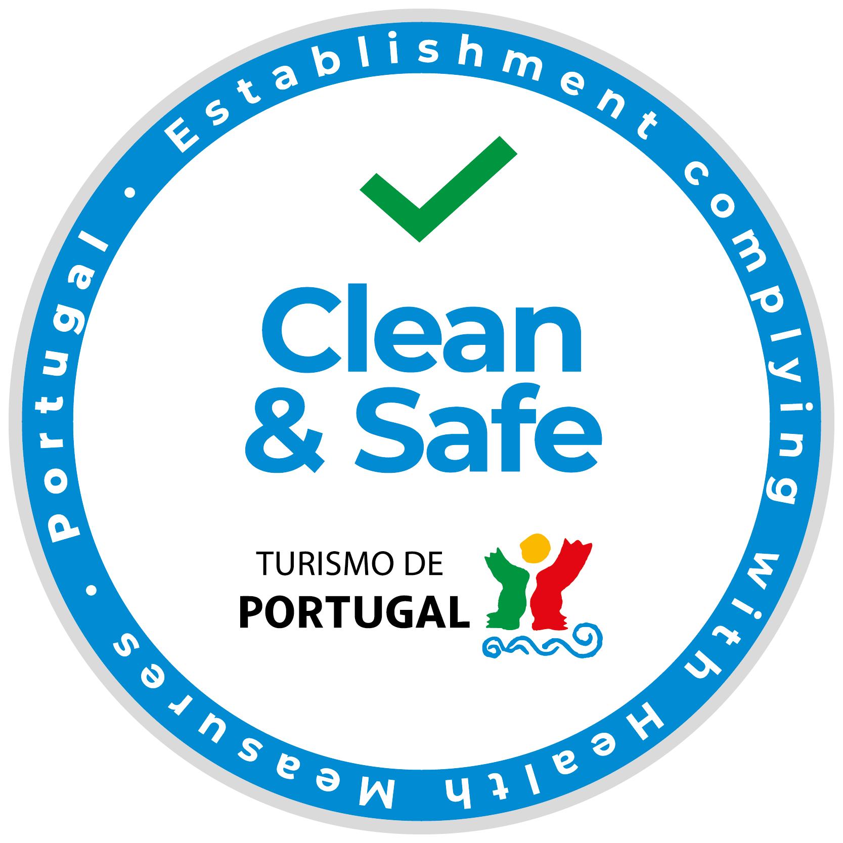 clean & safe portugal logo