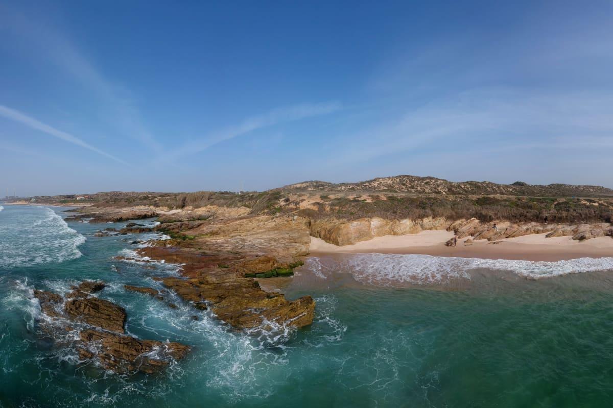 porto covo coastline photograph