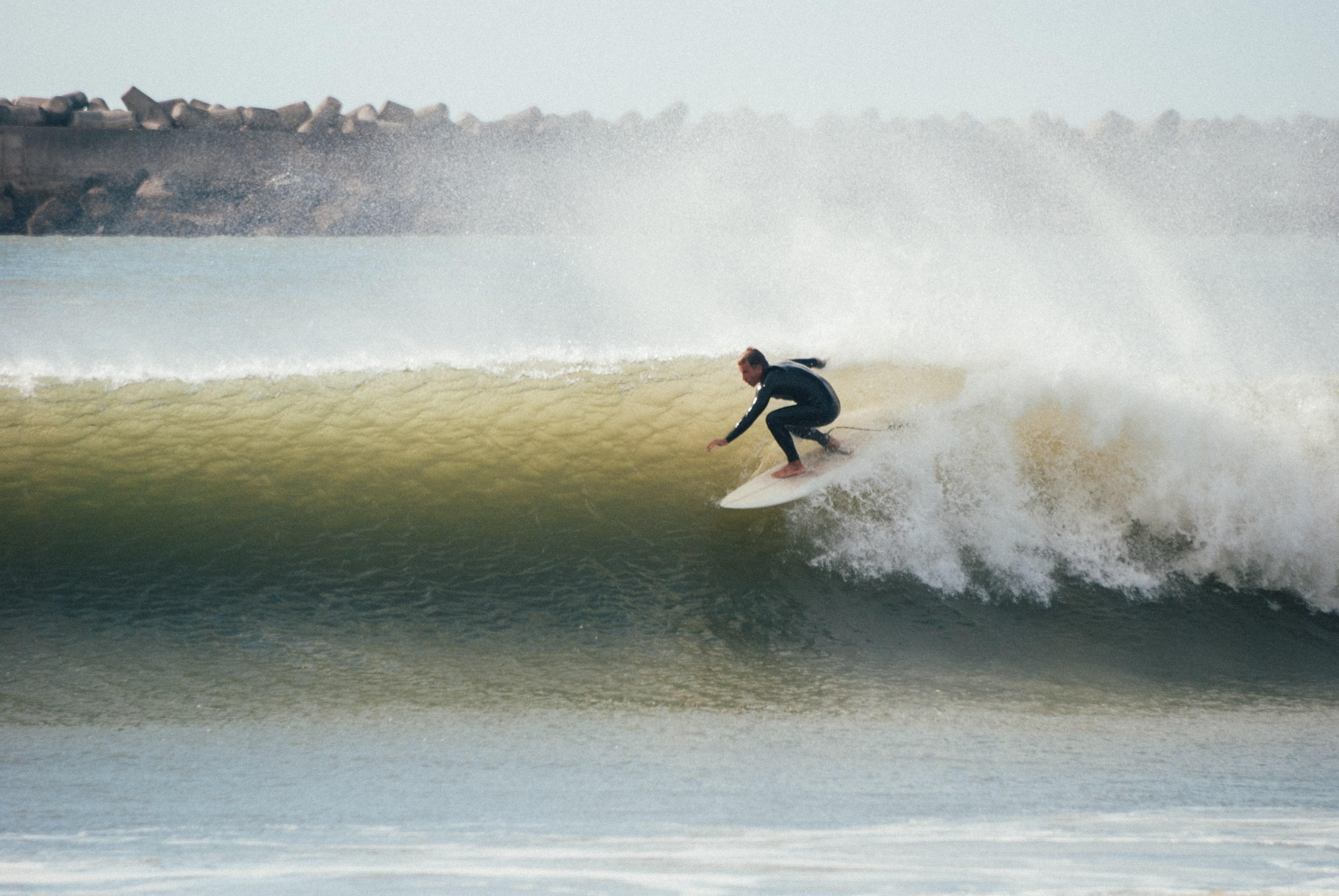 Gian surfing
