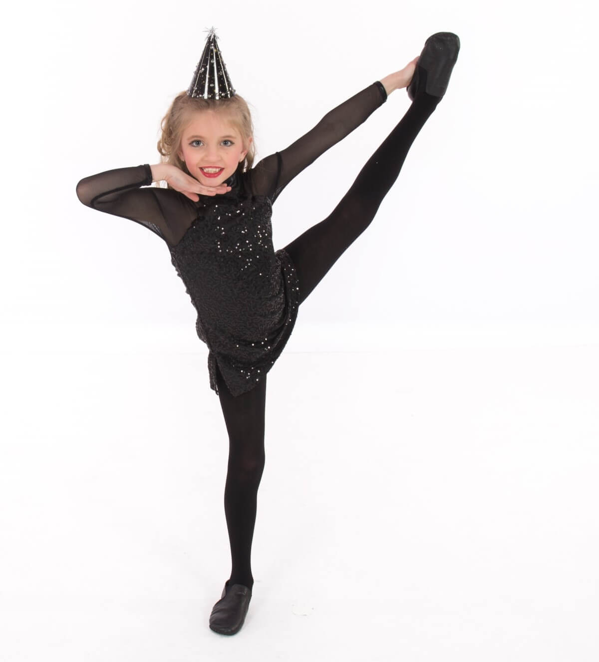 Leg raise pose