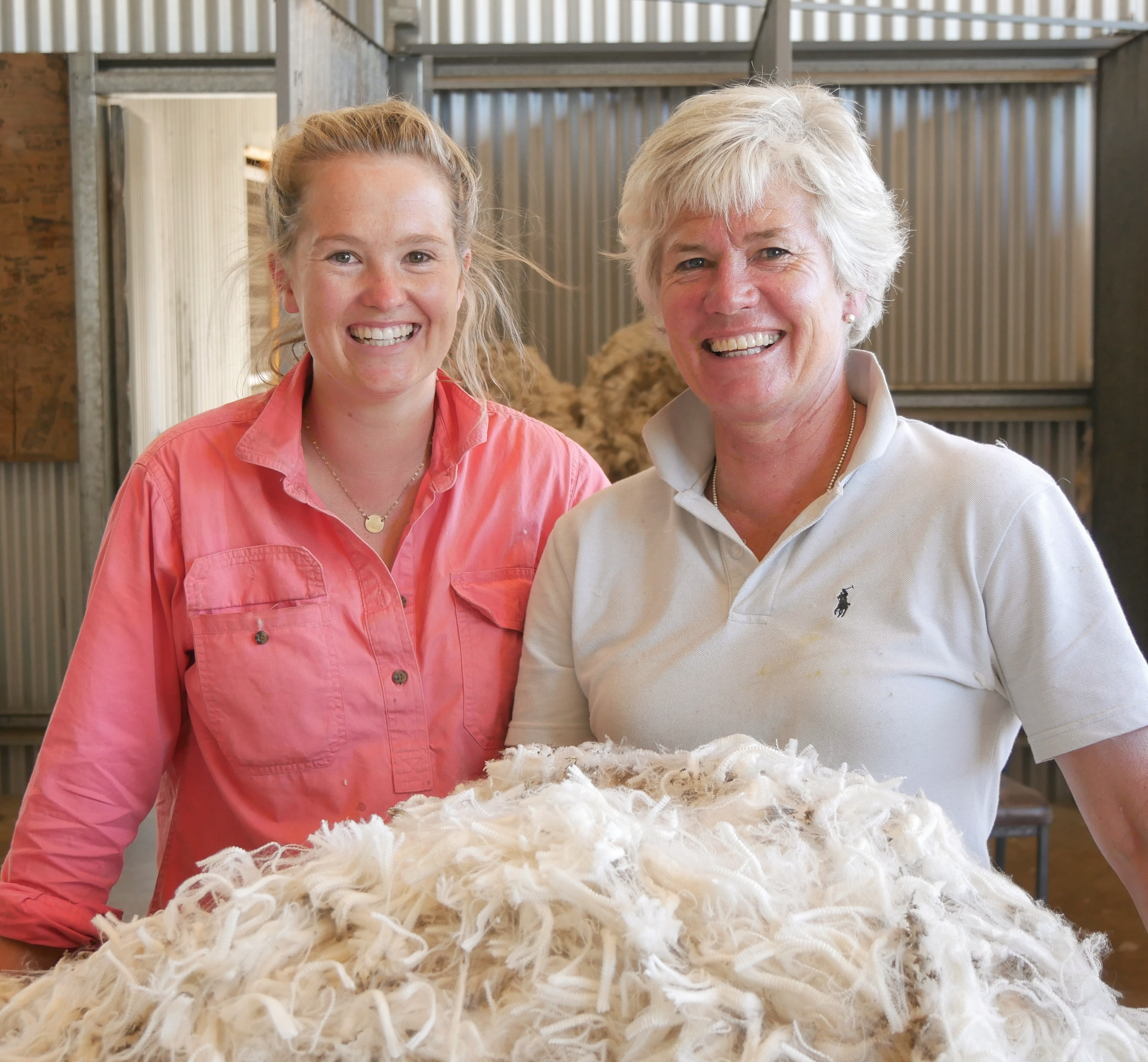 Mobble adopters Lucy & Bronnie Fenton from Vasey Farms