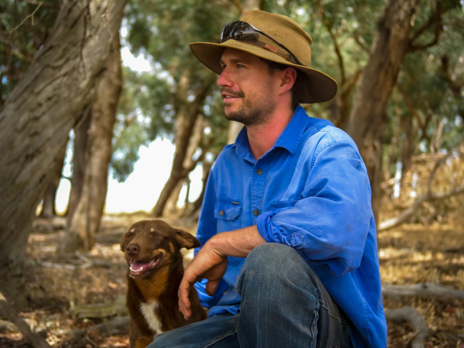 Charlie Heal, longtime user of farm livestock management app, Mobble.