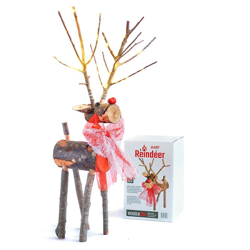 Reindeers. Woodensoul deco