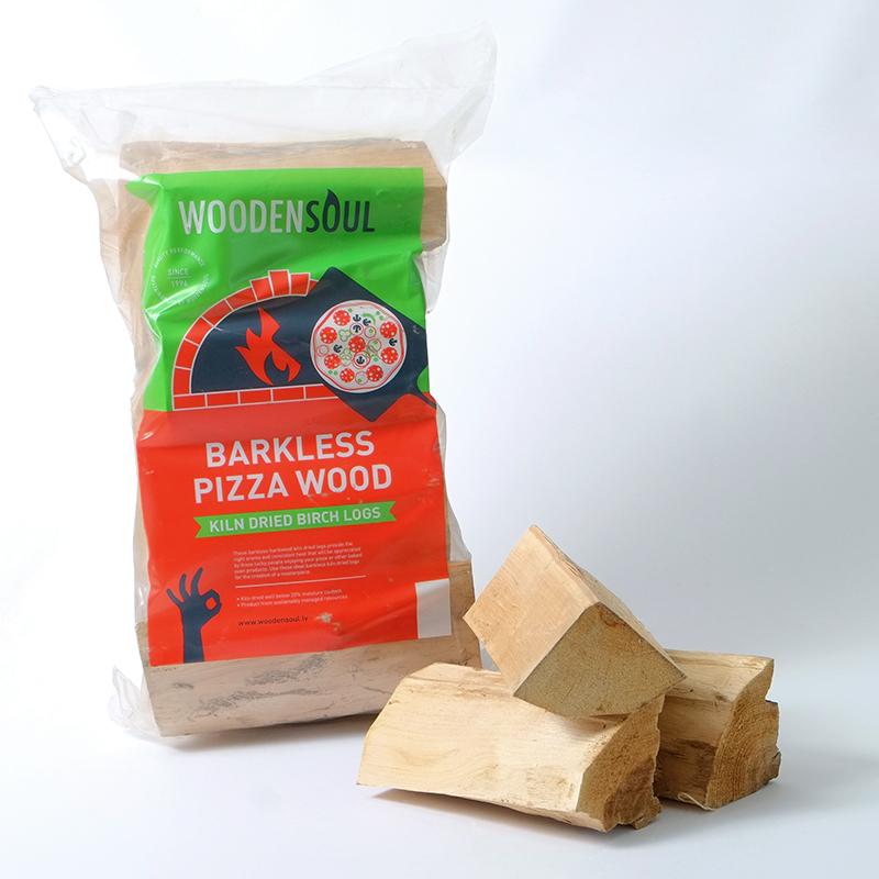 Woodensoul Firewood. Food grade kiln dried logs. Barkless Pizza Wood