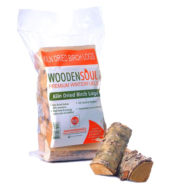 Kiln Dried Logs in Plastic bags. Firewood