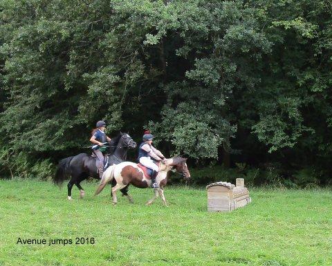The Badminton Ride - Jumps