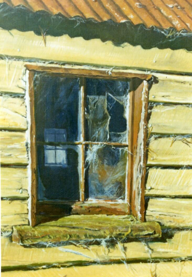 Alford Station Woolshed Window