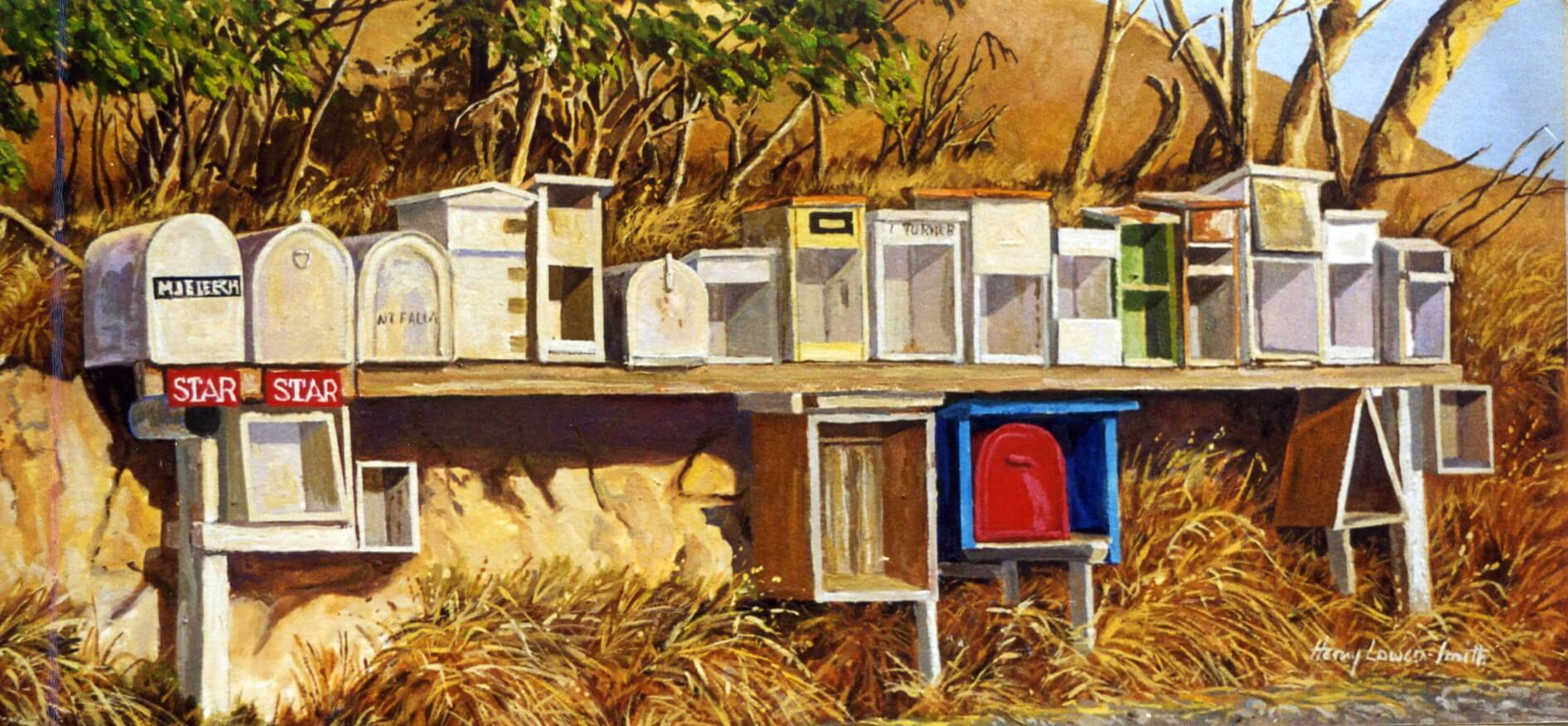Chateris Bay Mail Boxes