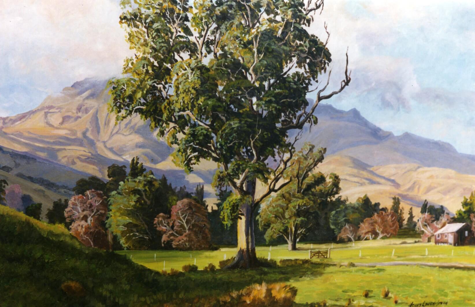 Mount Herbert Teddington Banks Peminsula